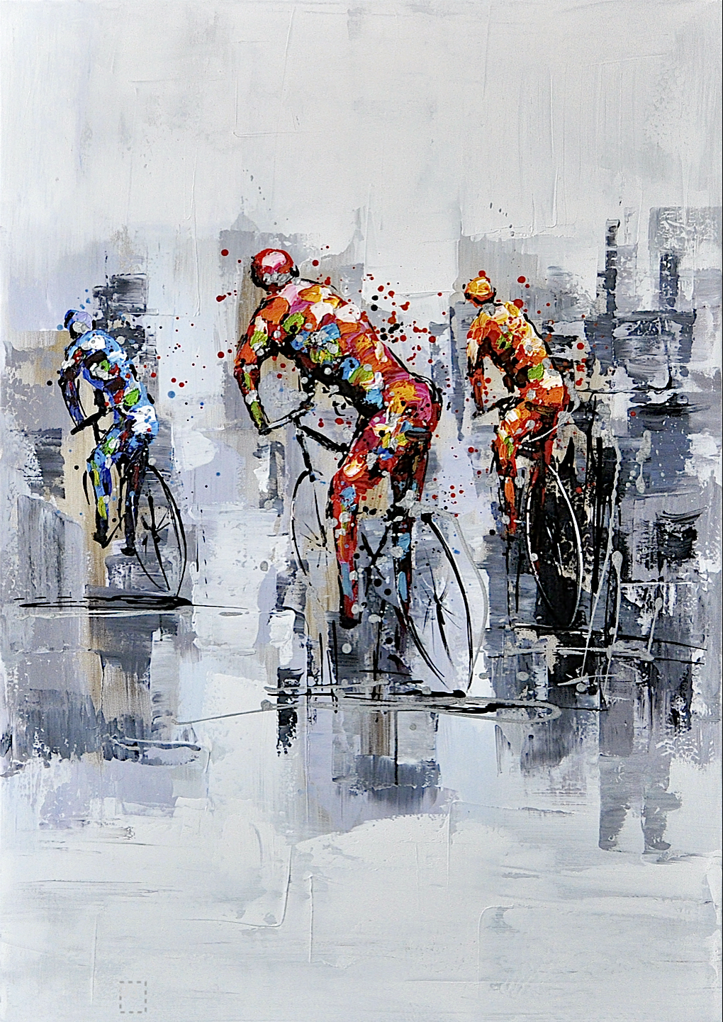 Schilderij   Tour De France