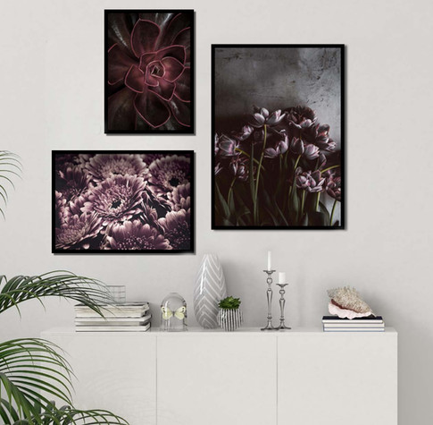Collage art prints
