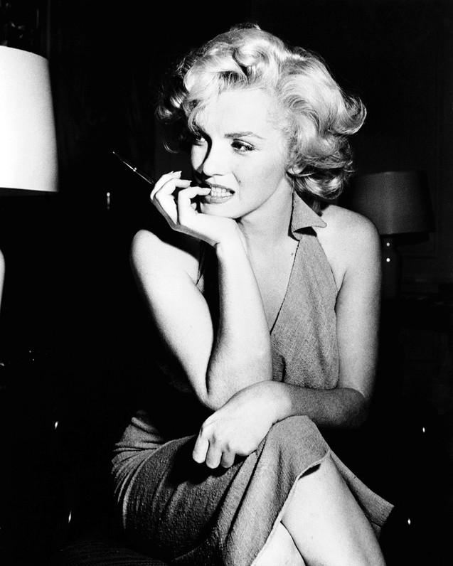 Kunstfoto op plexiglas Marilyn Monroe