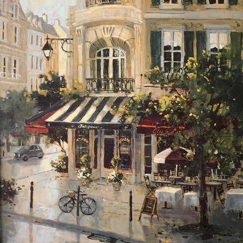 MARYLIN SIMANDLE, ANTIQUE BOULEVARD 60X60