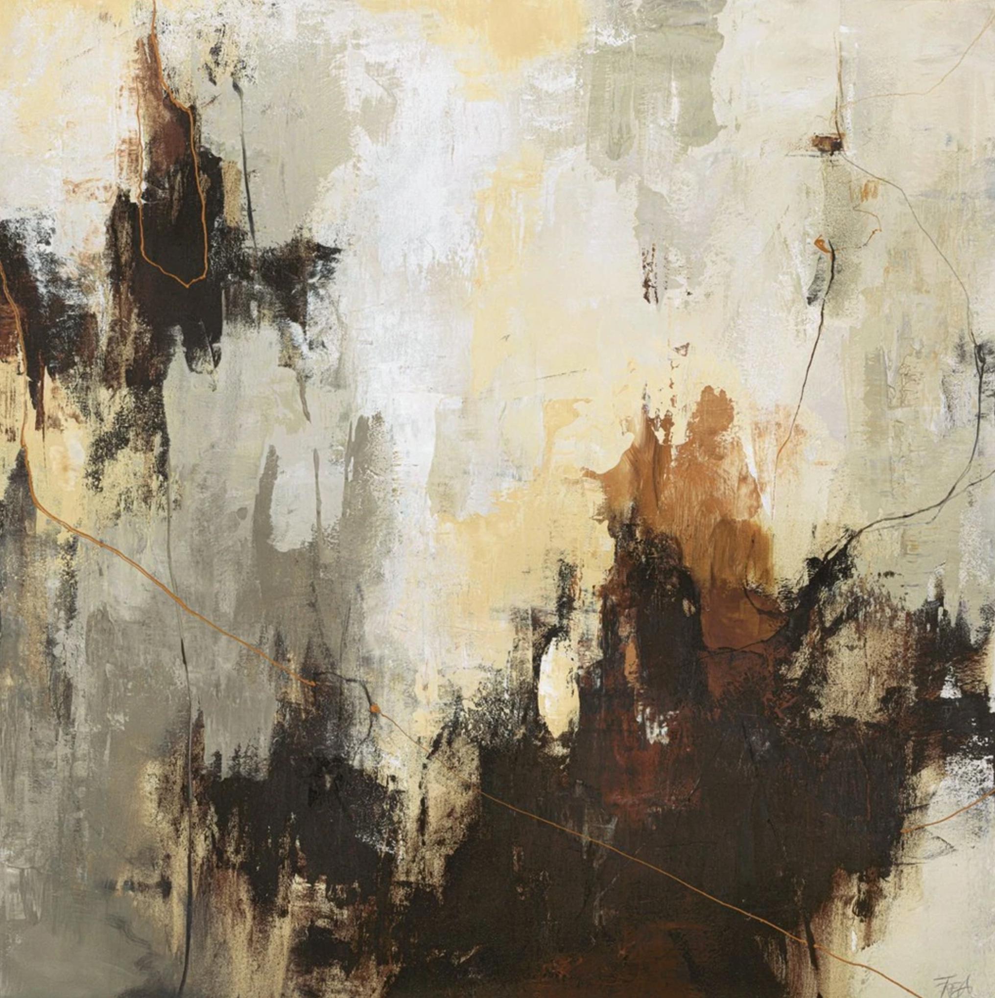 Schilderij Boomerang 118x118cm