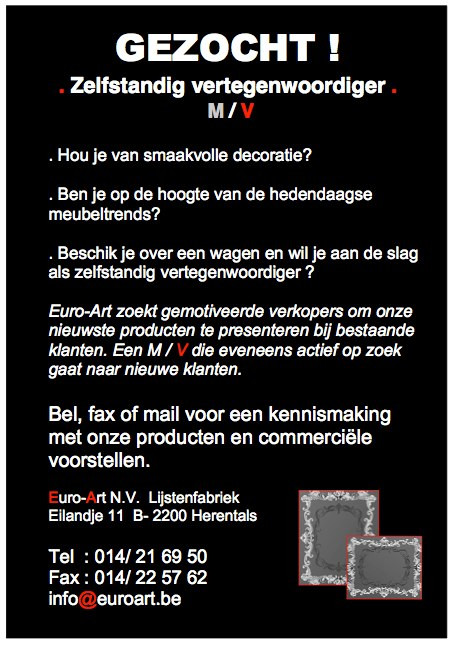 Gezocht: ART lovers