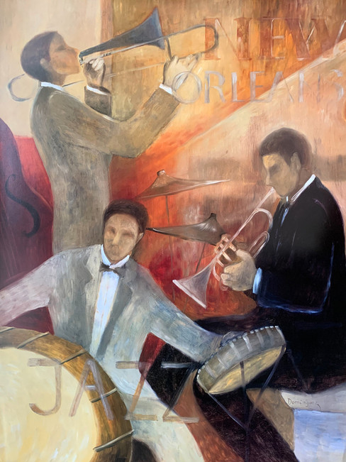 DOMINGUES, NEW ORLEANS JAZZ 60X80