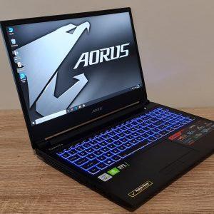 Gaming Aorus 5 10th Gen, Core i7, 16GB, 512GB SSD, RTX 2060, Office 2019