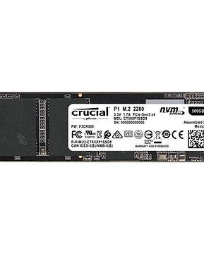 256 SSD, Crucial P1 3D PCIE NVME M.2 INC DELIVERY!!