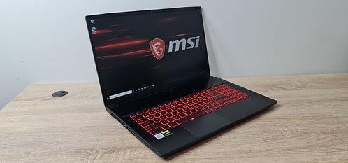 Gaming MSI GF63 Thin 10SCXR, 10th Gen, Core i7, 16GB, 512GB SSD, GTX 1650 Ti, Of