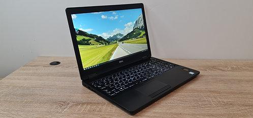 Dell Latitude 5580, 7th Gen, Core i7, 16GB, 256GB SSD, Win 10 Pro, Office 2019