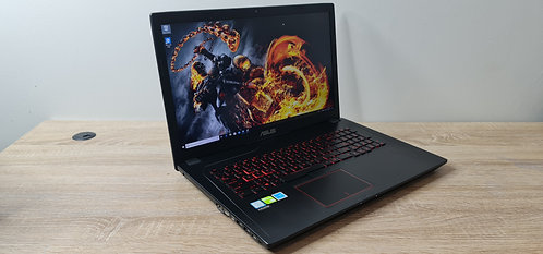 Gaming Asus GL753VD 7thGen, Core i7, 16GB, 256GB SSD, 1TB, Office 2019