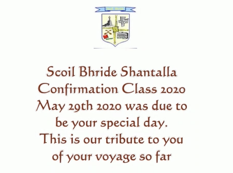 Confirmation Class 2020 'A Voyage'
