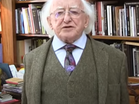 Message to sixth class students from President Michael D. Higgins