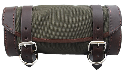 UNIVERSAL FRONT FORK TOOL BAG - ARMY GREEN CANVAS