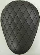 "13"" ELIMINATOR SOLO SEAT BLACK DIAMOND TUK"