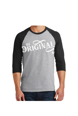 Be Original Men's 3/4 Sleeve