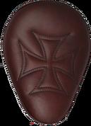 "13"" BASICK SOLO SEATS BROWN IRON CROSS"