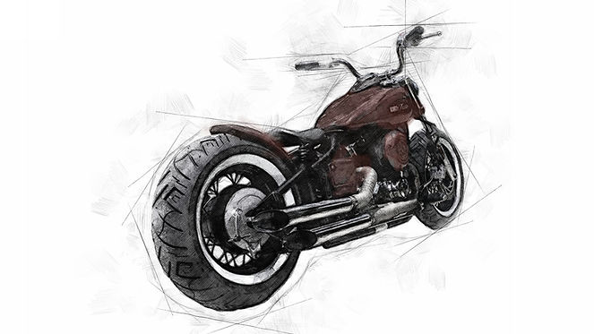 Air Ride | Iron Thrills Motorcycle Co