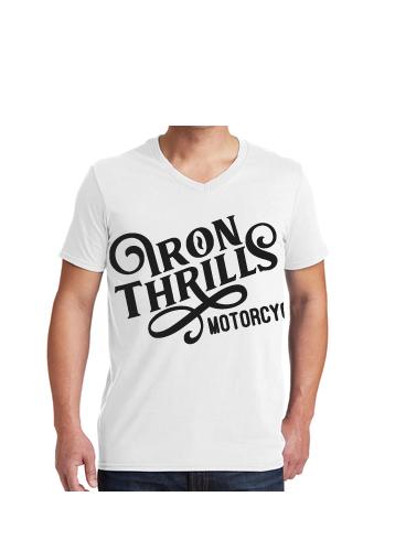 Iron Thrills Motorcycle Co. V-Neck