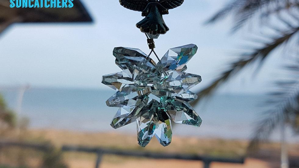 Suncatcher - Good Kharma Clear Crystals