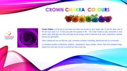 Sunkissed Suncatchers 8 Crown Chakra Colours