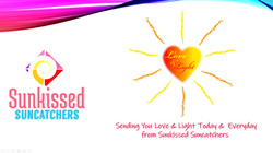 Sunkissed Suncatchers 14 Love & Light
