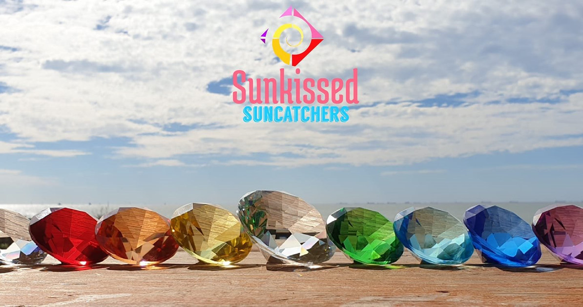 Sunkissed Suncatchers - Chakra Hand Crys