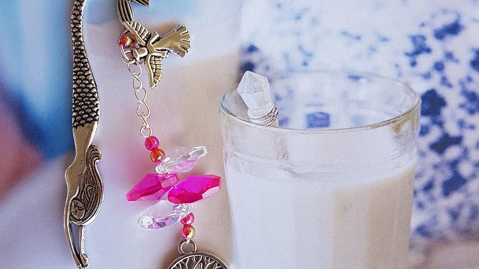 Bookmarks - Magenta Crystals