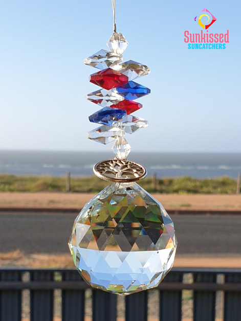 Sunkissed Suncatchers Red White & Blue A