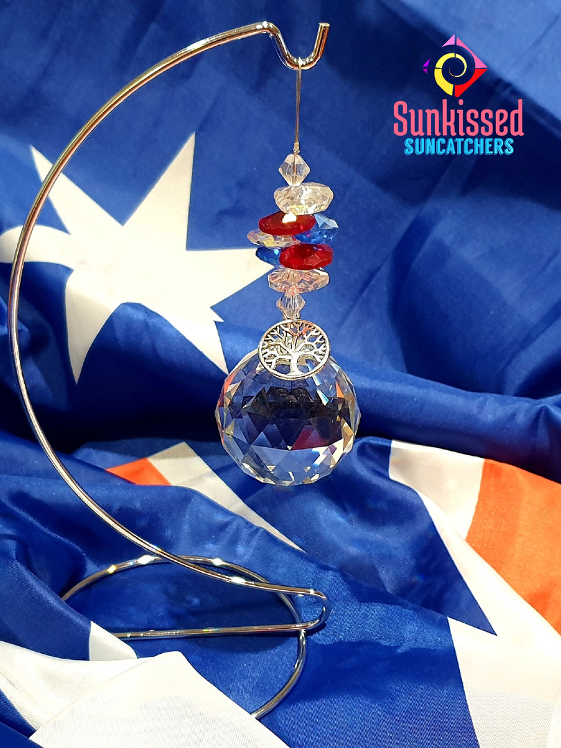 Sunkissed Suncatchers Red White & Blue 1