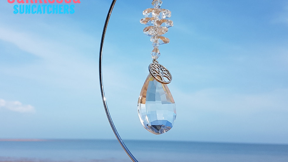 Suncatcher - Clear Chandelier Crystals (without stand)