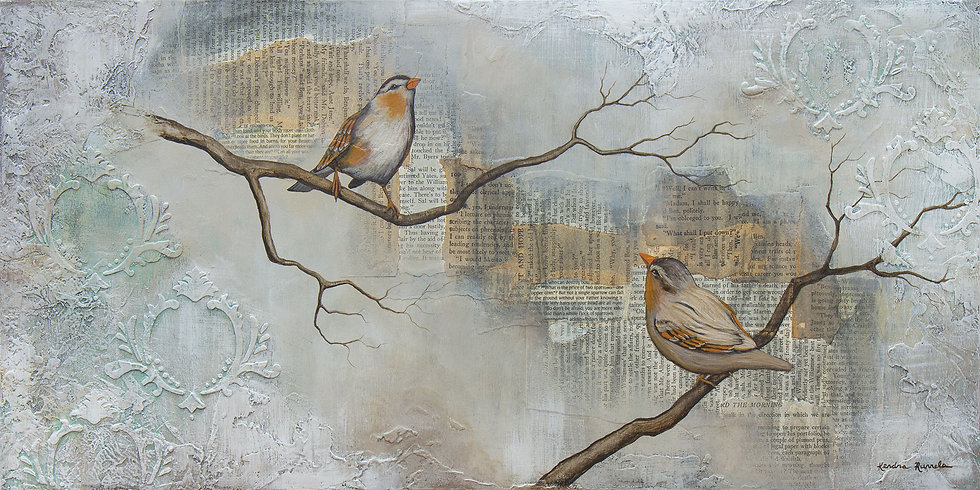 The Price of Two Sparrows - Limited Edition Giclée