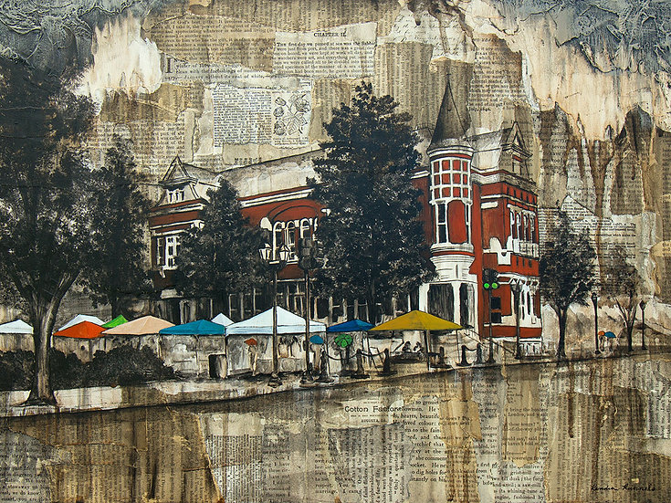 The Old Cotton Exchange - Limited Edition Giclée
