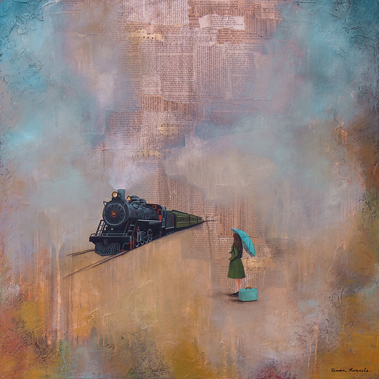 Wherever I May Go - Limited Edition Giclée