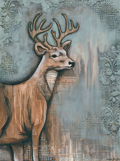 The Deer - Limited Edition Giclée