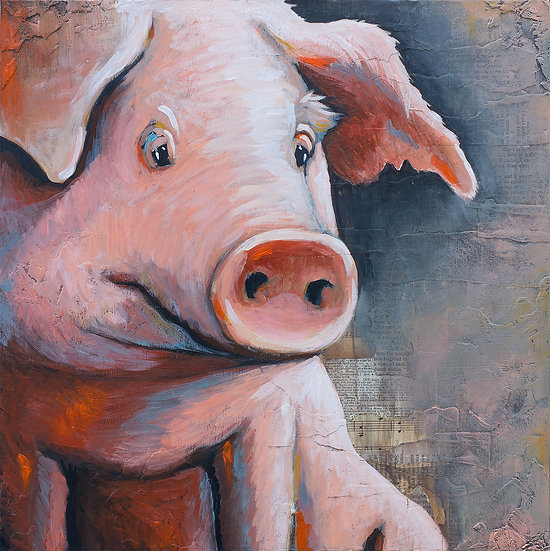 Oink - Limited Edition Giclée