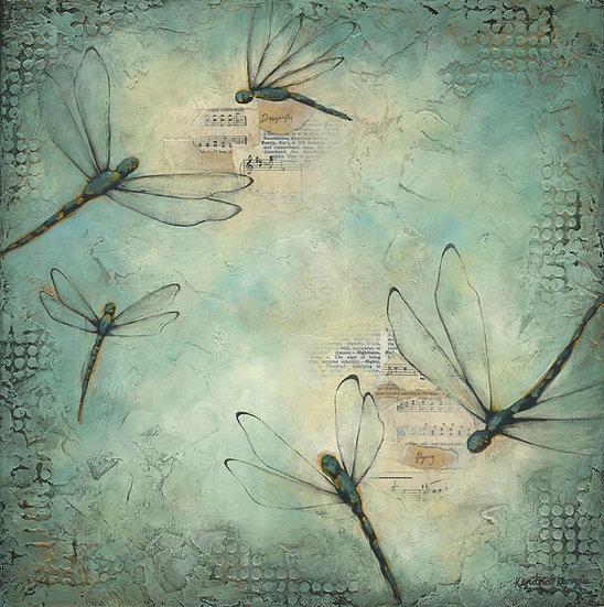 Dragonflies #2 - Limited Edition Giclée