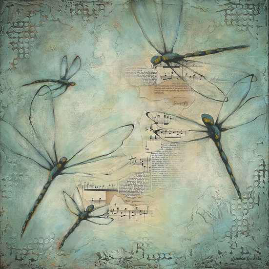 Dragonflies #1 - Limited Edition Giclée