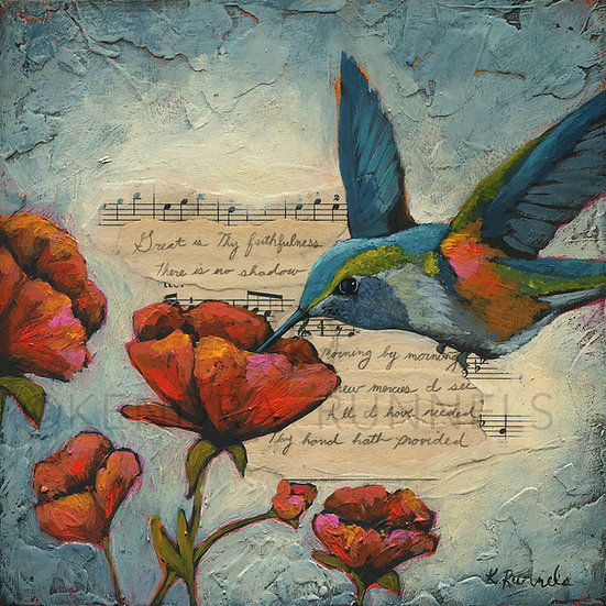 A Hummingbird Song  - Limited Edition Giclée