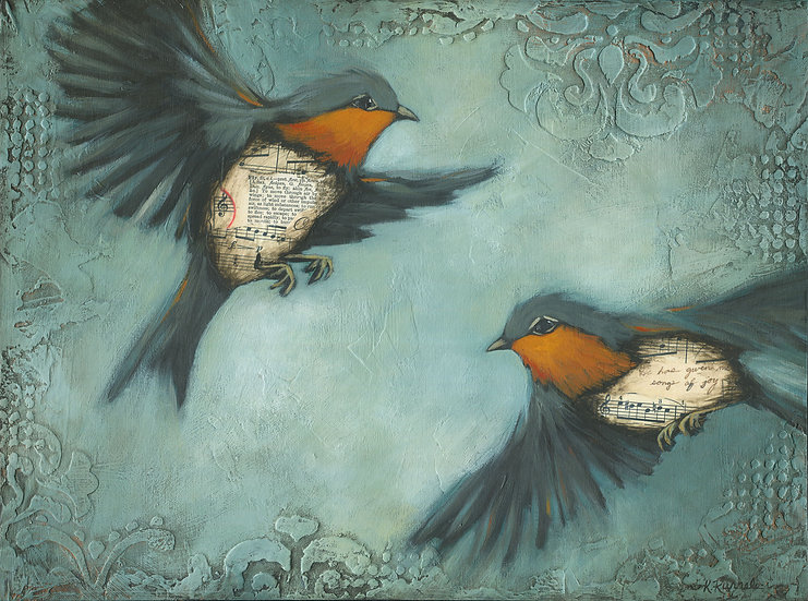 Birds of the Air #4 - Limited Edition Giclée