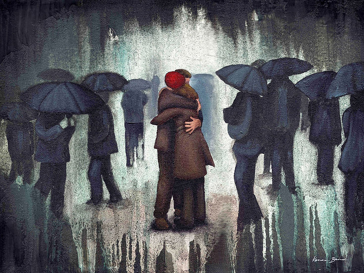 Shelter From The Storm - Limited Edition Giclée