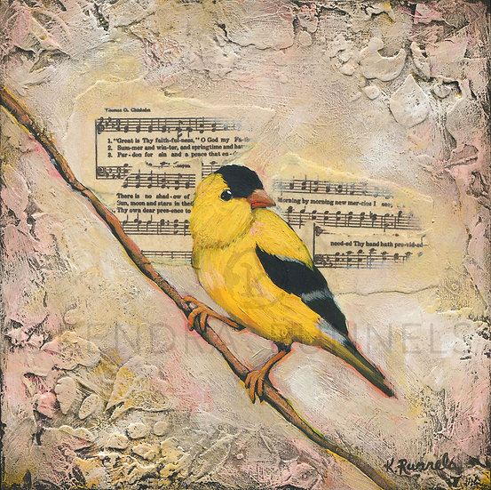 Goldfinch #1  - Limited Edition Giclée