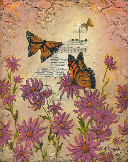 Butterfly Song - Limited Edition Giclée