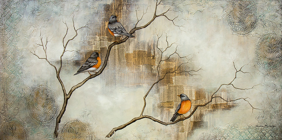 Look At the Birds - Limited Edition Giclée
