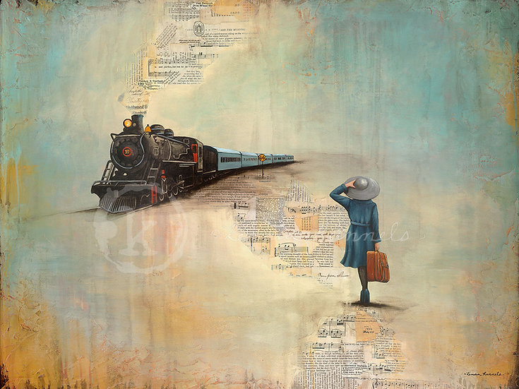 The Traveler - Limited Edition Giclée