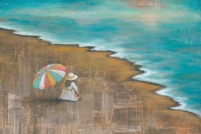 The Woman By The Sea - Limited Edition Giclée
