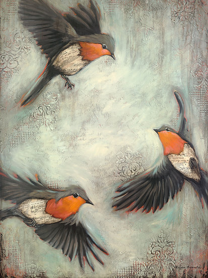 Birds of the Air - Limited Edition Giclée