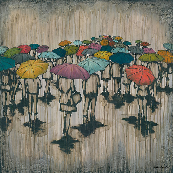 A Sea of Umbrellas #2 - Limited Edition Giclée