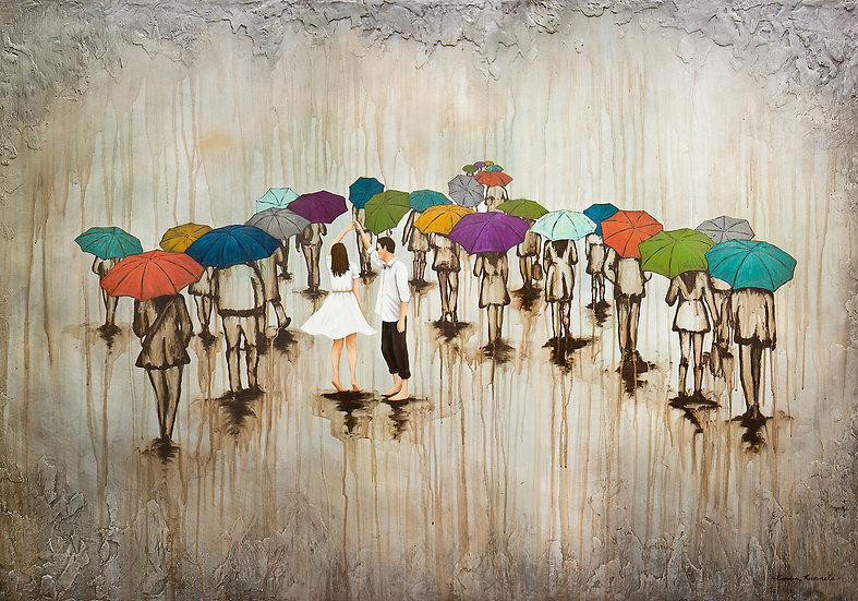 Dance With Me In The Rain - Limited Edition Giclée