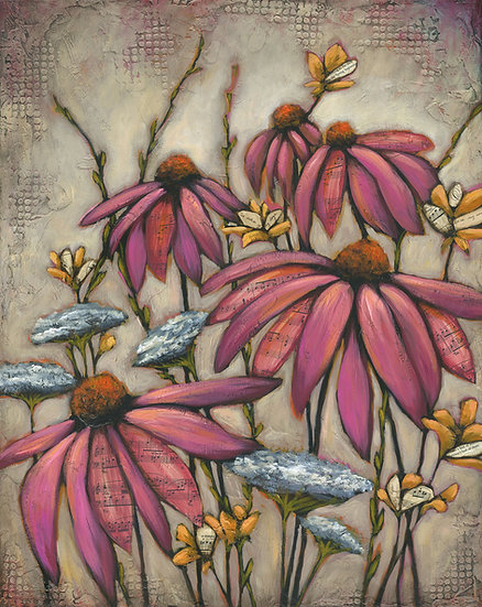 Wildflowers - Limited Edition Giclée