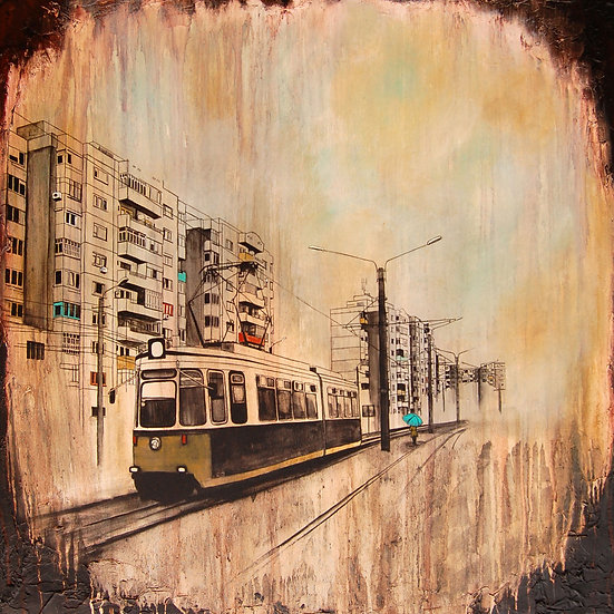 Waiting For The Next Train - Limited Edition Giclée