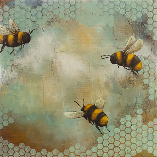 Bees #1 - Limited Edition Giclée