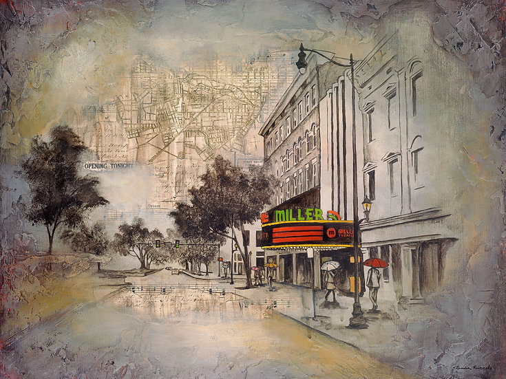 Miller Theater - Limited Edition Giclée